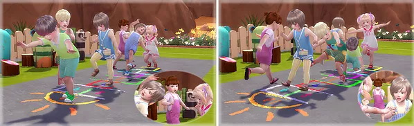 Jumping On Hopscotch Pose at A luckyday image 10211 Sims 4 Updates