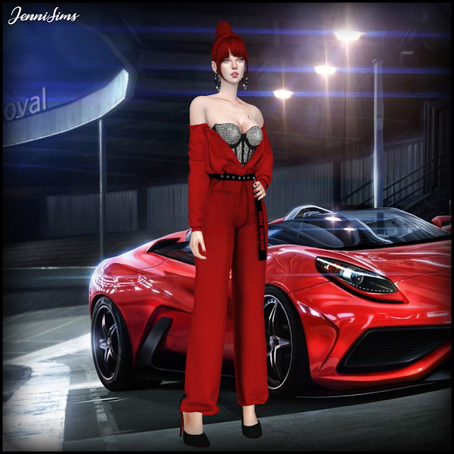 Sims 4 CAS Screens Love For Cars (6 Cas background) at Jenni Sims