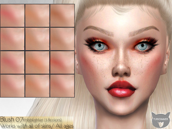 Sims 4 Blush 07 by turksimmer at TSR