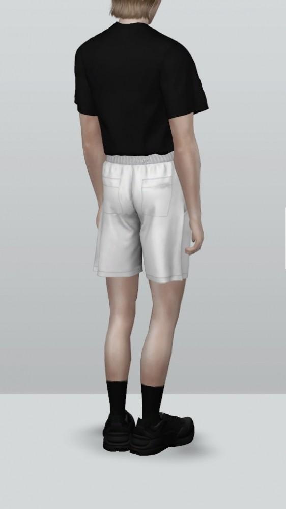 Sims 4 Summer Activewear For Men at Rona Sims
