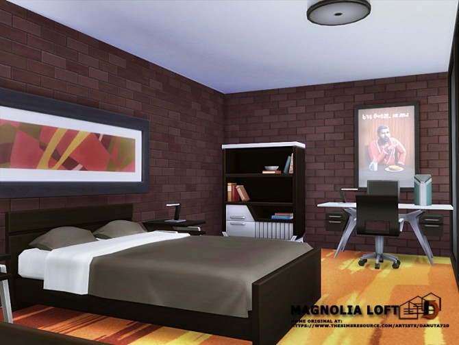 Magnolia Loft by Danuta720 at TSR image 1080 670x503 Sims 4 Updates