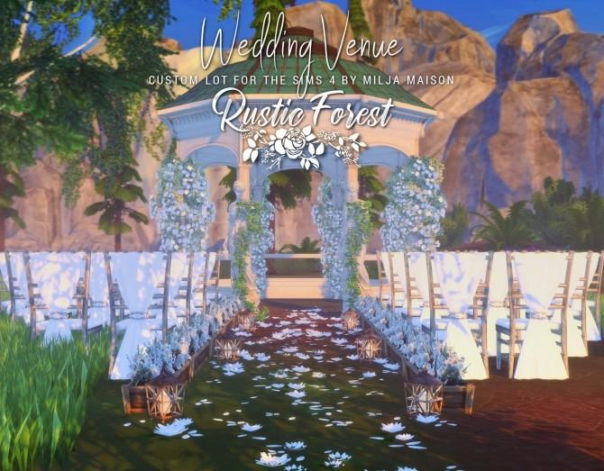 RUSTIC FOREST WEDDING VENUE at Milja Maison image 1086 670x523 Sims 4 Updates