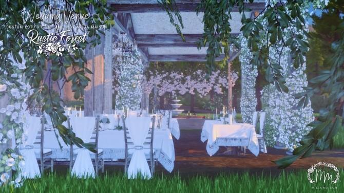 RUSTIC FOREST WEDDING VENUE at Milja Maison image 1096 670x377 Sims 4 Updates