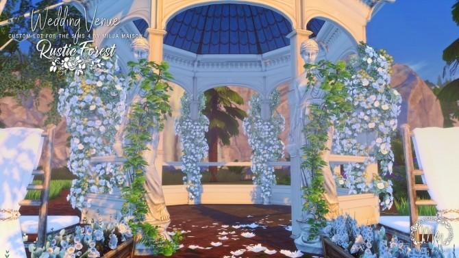 RUSTIC FOREST WEDDING VENUE at Milja Maison image 11010 670x377 Sims 4 Updates