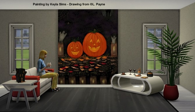 L. Payne Paintings at Keyla Sims image 11018 670x388 Sims 4 Updates