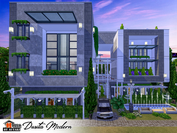 Dusita Modern house by autaki at TSR image 11103 Sims 4 Updates