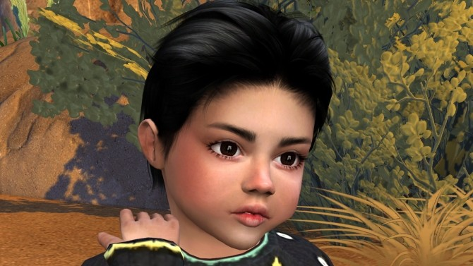 Sims 4 Little Emilio by Elena at Sims World by Denver