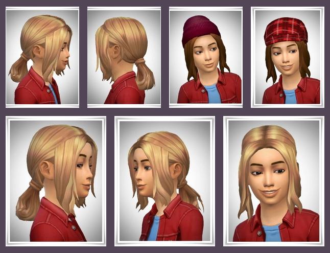 Sims 4 Kids Loop Lose Side Bangs at Birksches Sims Blog