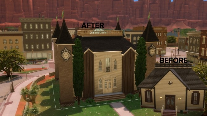 Sims 4 Strangerville renew #6 City hall by iSandor at Mod The Sims