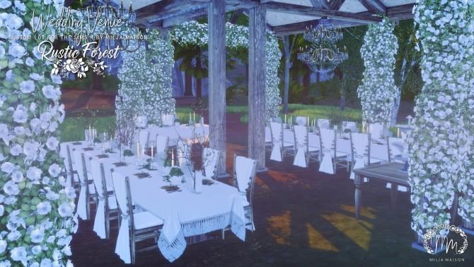 RUSTIC FOREST WEDDING VENUE at Milja Maison image 1136 670x377 Sims 4 Updates