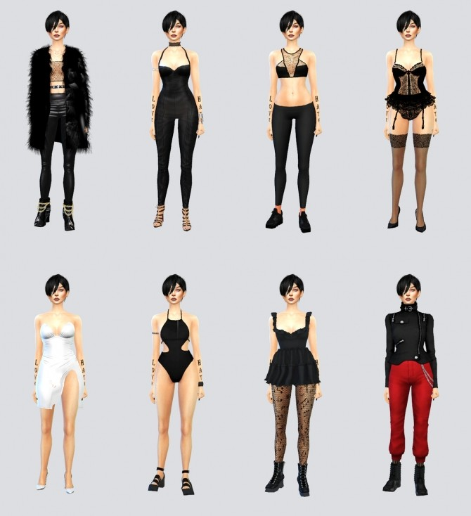 Sims 4 Elettra at La Gaugin