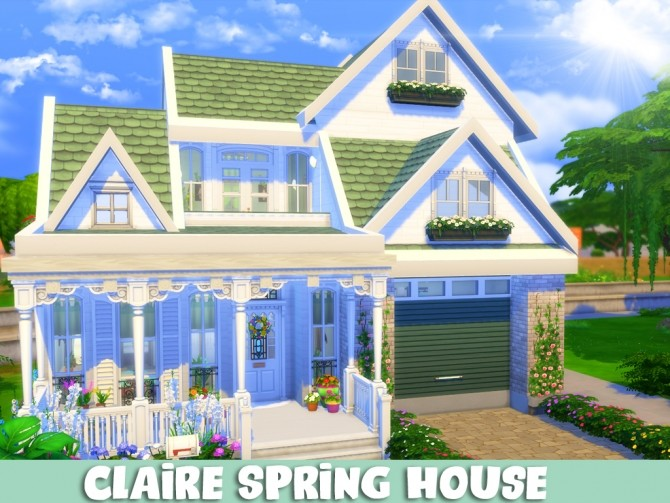 Claire Spring House at MSQ Sims image 1166 670x503 Sims 4 Updates