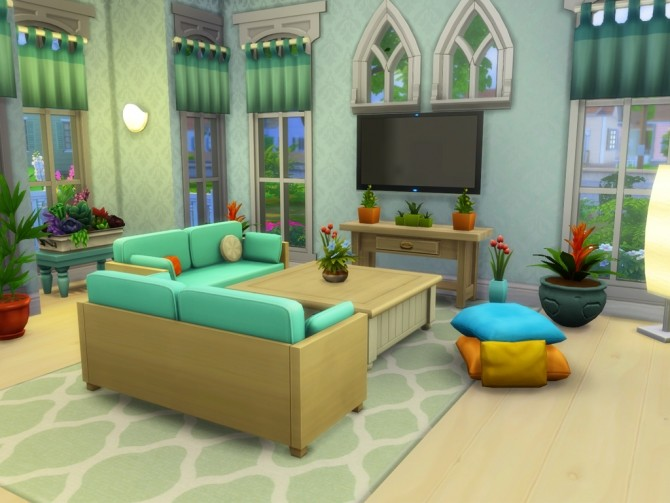 Claire Spring House at MSQ Sims image 1175 670x503 Sims 4 Updates