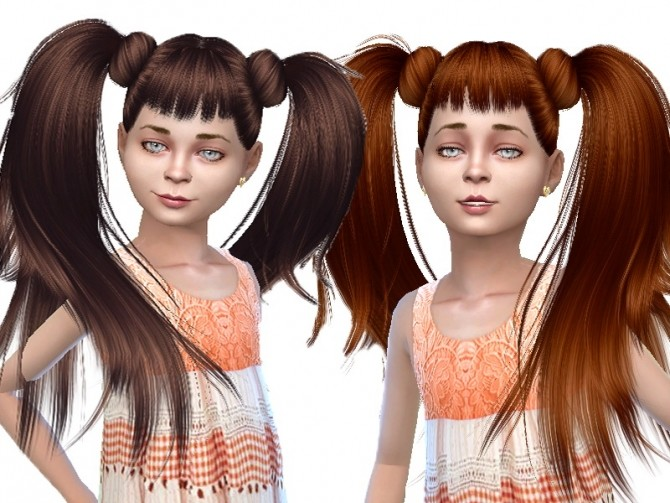 Sims 4 Anto Asia hair convert for child at Trudie55