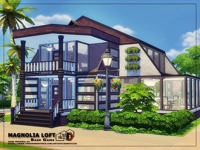 Magnolia Loft by Danuta720 at TSR image 1180 670x503 Sims 4 Updates