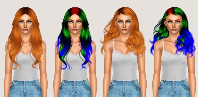 Sims 4 S3 Anto Elora + Wonderland Hair Retexture at Shimydim Sims