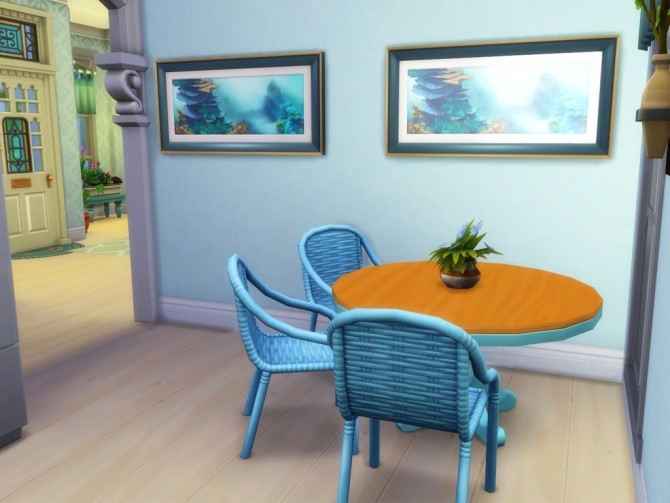 Sims 4 Claire Spring House at MSQ Sims