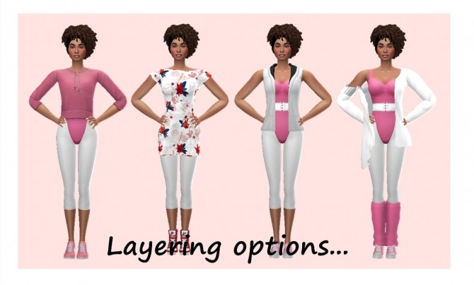 GP04 ACCESSORY AEROBIC OUTFIT at Sims4Sue image 121 670x403 Sims 4 Updates