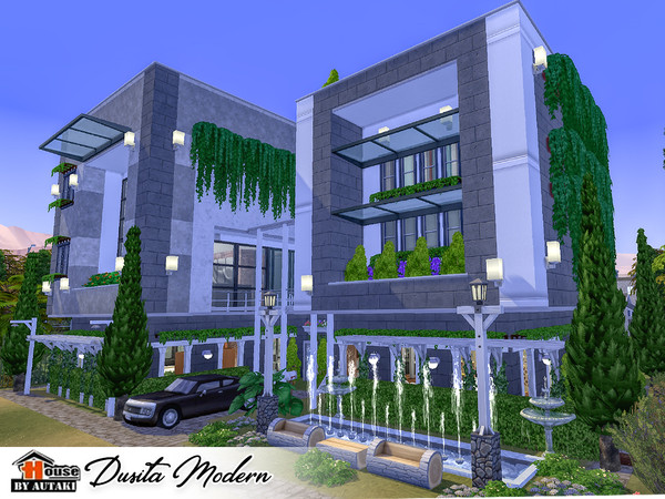 Dusita Modern house by autaki at TSR image 12100 Sims 4 Updates