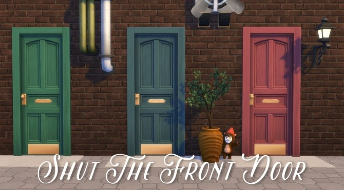 Shut the Front Door at Hamburger Cakes image 12113 670x371 Sims 4 Updates