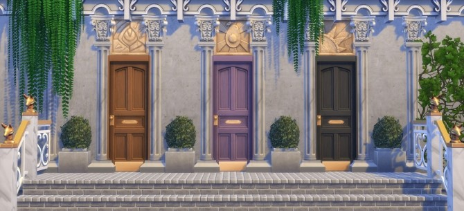 Shut the Front Door at Hamburger Cakes image 12211 670x305 Sims 4 Updates