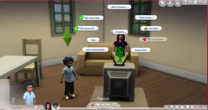 Sims 4 More Autonomous Social Interactions For Toddlers by Brandi Marie93 at Mod The Sims