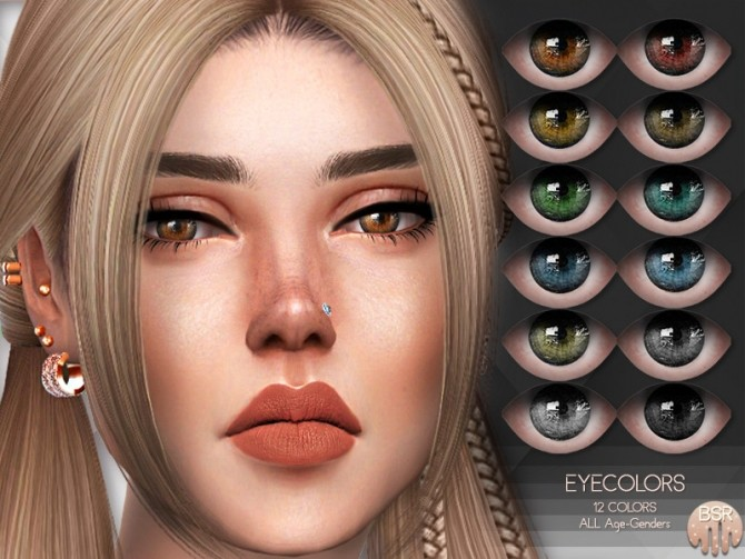 Sims 4 Eyecolors BES18 by busra tr at TSR
