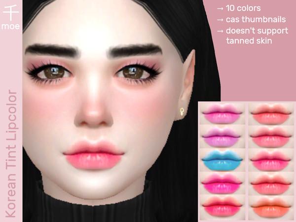Lip Tint V1 by Senmoe at TSR image 1280 Sims 4 Updates