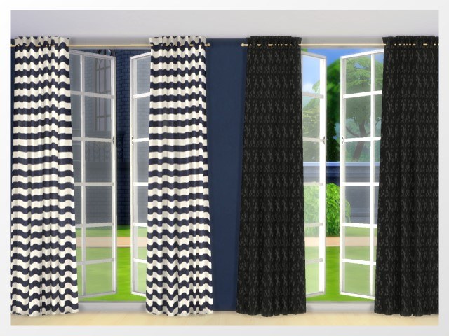 Curtains by Oldbox at All 4 Sims image 13010 Sims 4 Updates