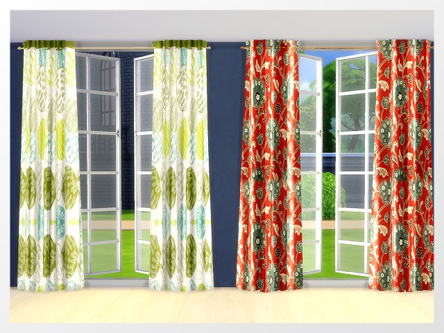 Curtains by Oldbox at All 4 Sims image 13213 Sims 4 Updates