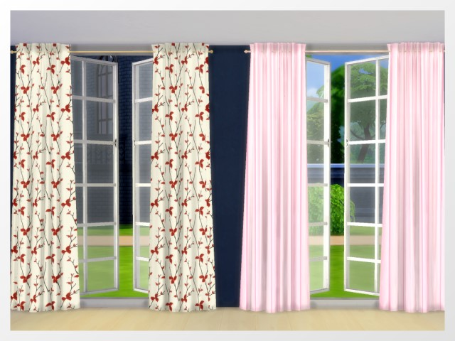 Curtains by Oldbox at All 4 Sims image 13312 Sims 4 Updates