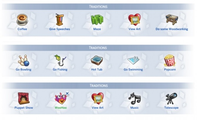 Sims 4 15 New Holiday Traditions by Sims Lover at Mod The Sims