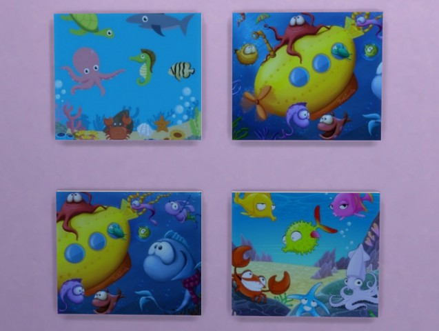 Sims 4 Hey Fish pictures by Meryane at Beauty Sims