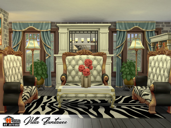 Villa Buntawee by autaki at TSR image 1359 Sims 4 Updates