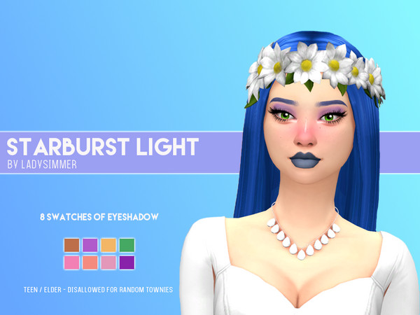 Sims 4 Starburst Light Eyeshadow by LadySimmer94 at TSR