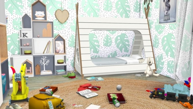 Sims 4 TODDLER ROOM at MODELSIMS4