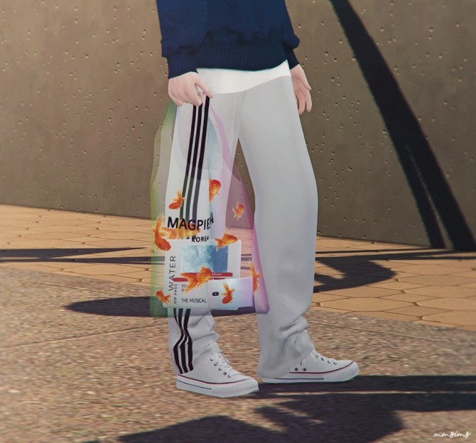 Sims 4 PVC Bag Set at MMSIMS