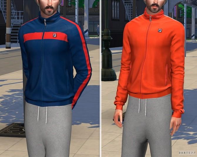 Sims 4 Vintage Track Jacket at Darte77