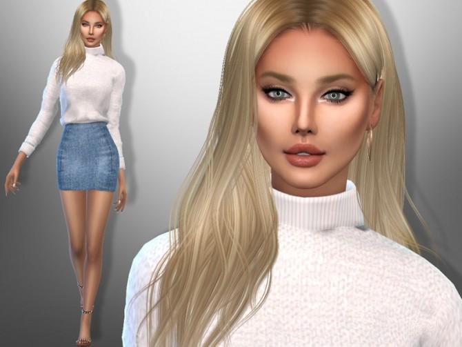 Sims 4 Silvena Carey by divaka45 at TSR