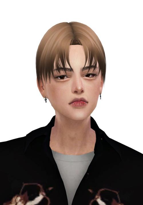Sims 4 Henry Hair at Lemon Sims 4
