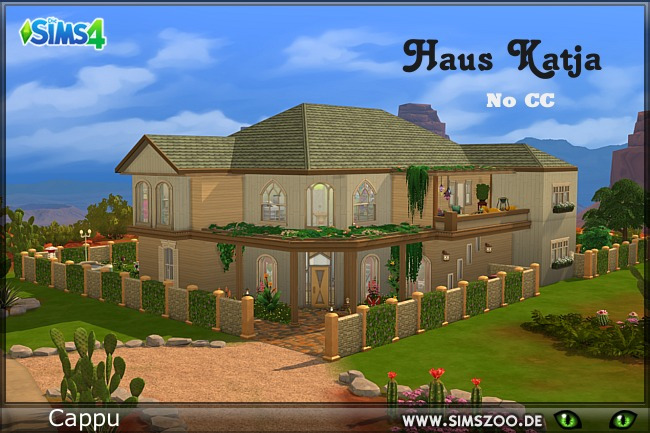 Sims 4 Katja house by Cappu at Blacky's Sims Zoo
