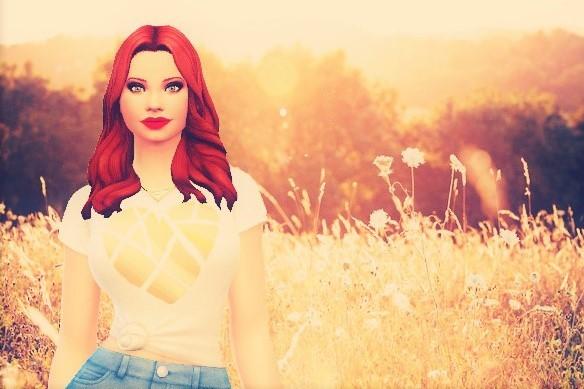 Sims 4 Margareth at Agathea k