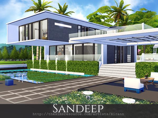 Sandeep house by Rirann at TSR image 1638 Sims 4 Updates