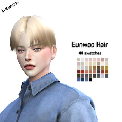 Sims 4 Eunwoo Hair at Lemon Sims 4