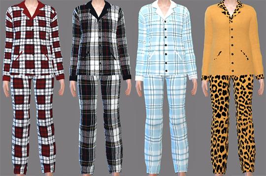 Sims 4 Pajamas at Descargas Sims