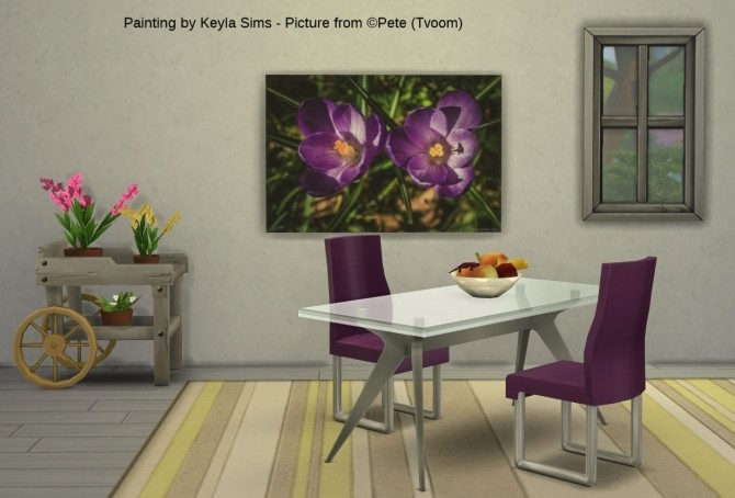 Pete (Tvoom) paintings at Keyla Sims image 1679 670x454 Sims 4 Updates