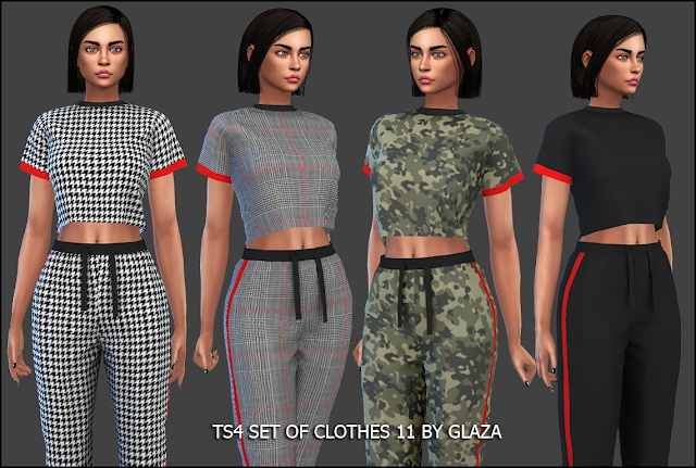 Outfit 11 (P) at All by Glaza image 1683 Sims 4 Updates