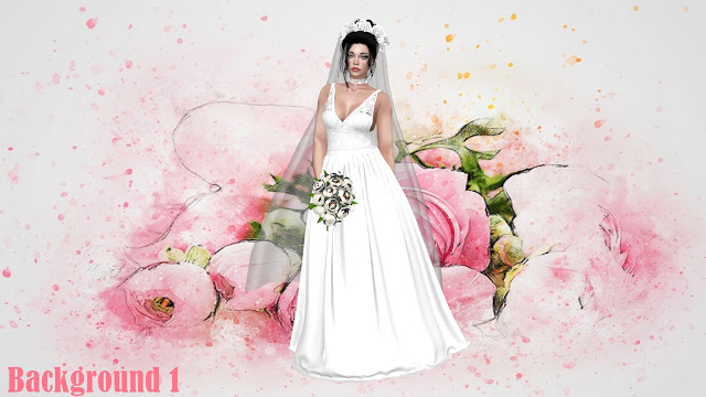 Wedding CAS Backgrounds at Annett's Sims 4 Welt image 1688 Sims 4 Updates