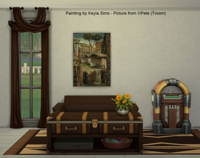 Pete (Tvoom) paintings at Keyla Sims image 1689 670x532 Sims 4 Updates