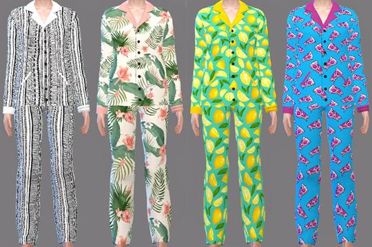 Pajamas at Descargas Sims image 1695 Sims 4 Updates